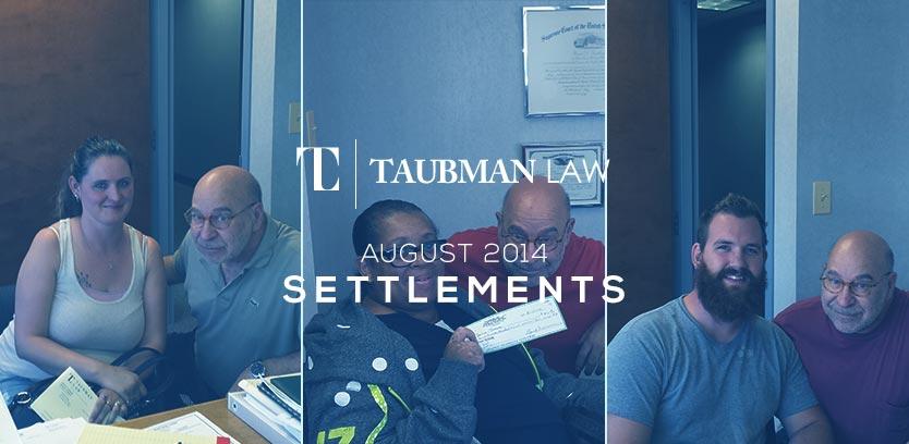 August-Settlements