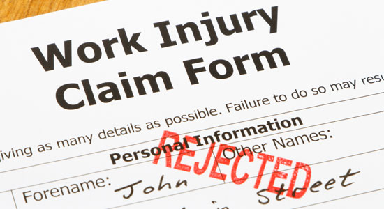 rejected-work-injury-claim-form