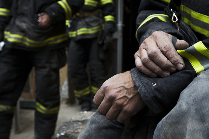 A first responder with PTSD eligible for workers' compensation benefits.
